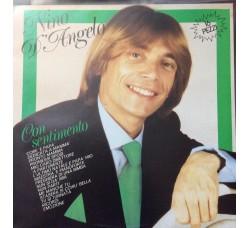 Nino D'Angelo - Con sentimento - LP/Vinile - 1982