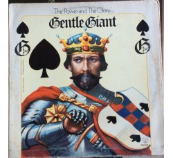 Gentle Giant – The Power And The Glory - LP/Vinile 1974