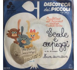 """Disneyland - Scale e arpeggi dal fim """"Gli Aristogatti"""" - 45 RPM"""