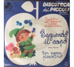 """Disneyland - Inseguendo il capo dal fim """"Peter Pan"""" - 45 RPM"""
