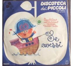 """Disneyland - L'importante è il primo passo dal fim """"Pomi di Ottone e manici di scopa""""  - 45 RPM"""