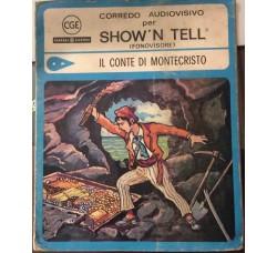 Il Conte di MonteCristo  - Diapositiva e Disco per Fonovisore