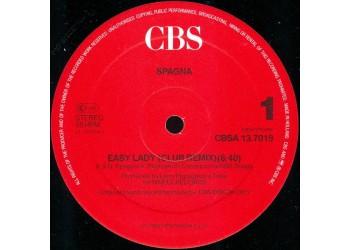 "Spagna – Easy Lady (Club Remix)  - 12"" Max Single"