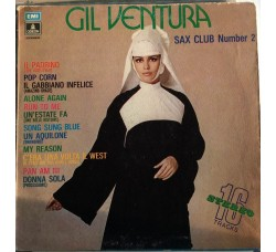 Gil Ventura ‎– Sax Club Number 2 - LP/Vinile