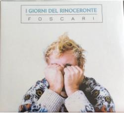Marco  Foscari - I GIORNI DEL RINOCERONTE - CD