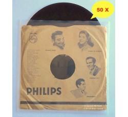 BUSTE  Esterne per dischi Vinili 78 Giri -10 Pollici - PE my 100 - Qtà 50