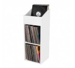 "GLORIOUS - Mobile Rack per Vinili LP 12"" Pollici  colore BIANCO - Contiene 330 LP"
