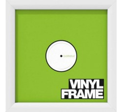 """Glorious Set di TRE (3) Cornici Deluxe colore BIANCO per dischi 12"""""""