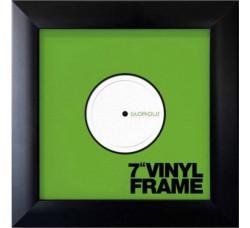 """Glorious SET di (TRE)  Cornici  per dischi Vinili 7"""" Pollici 45 GIRI (Colore NERO)"""