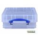 REALLY USEFUL- Contenitore Antiurto per 70/90  CD custodia Jewel case