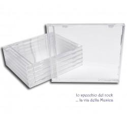 Custodia Jewel Case per CD  senza Vassoio per alloggio CD - Qtà 20