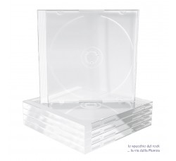 Custodie Jewel Case Cristallo per 1 CD - Gr 70 - Qtà 10