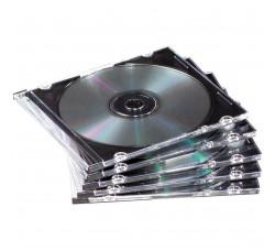 Custodia per CD Jewel Case Slim  - Qtà 5 pz