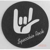 """MUSIC MAT - Tappetino Antistatico design """"CORNA ROCK"""" Feltro mm 3 (Conf.1 Pezzo)"""