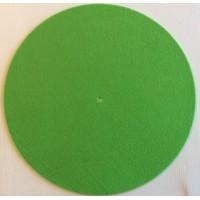 SLIPMATS - GREEN - Tappetino Slipmats  per Giradischi  (1) Pezzo