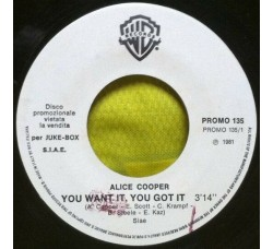 Alice Cooper (2) / Bim ‎– You Want It, You Got It / Romance