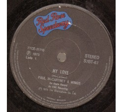 Paul McCartney & Wings* ‎– My Love / The Mess