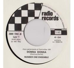 Number One Ensemble / Mia Martini – Donna Donna / Ti Regalo Un Sorriso