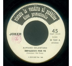 Adriano Celentano / The Salsoul Invention ‎– Impazzivo Per Te / Soul Machine