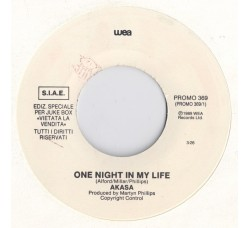 Akasa / Holly Johnson ‎– One Night In My Life / Heaven's Here