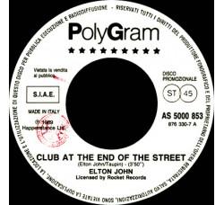 Elton John / Faith No More – Club At The End Of The Street / Epic