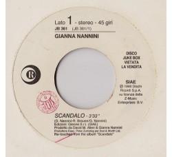 Gianna Nannini / Marco Masini – Scandalo / Ci Vorrebbe Il Mare