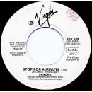 Sandra / Belinda Carlisle – Stop For A Minute / I Get Weak - 45 RPM (Juke box)