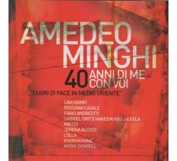 Amedeo Minghi – 40 Anni Di Me Con Voi - Cuori di pace in Medio Oriente - CD