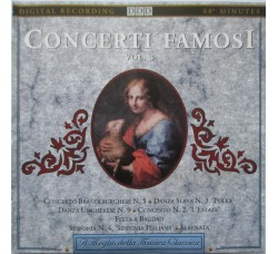Various – Concerti Famosi Vol. 3 (The Great Italian Symphony And Other Famous Concertos) - CD