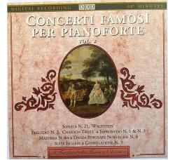 Various – Concerti Famosi Per Pianoforte Vol. 2 - CD