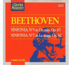 Beethoven* ‎– Sinfonia N°5 In Do Min. Op. 67, Sinfonia N°7 In La Magg. Op. 92 - CD