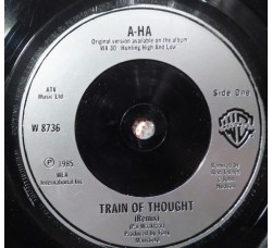 a-ha ‎– Train Of Thought – 45 RPM