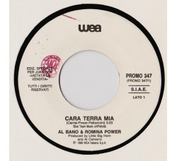 Al Bano & Romina Power / Gigliola Cinquetti ‎– Cara Terra Mia / Ciao - (Single jukebox)