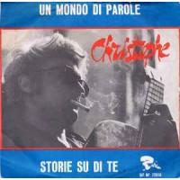 Christophe – Un Mondo Di Parole / Storie Su Di Te - 45 RPM
