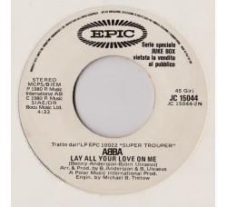 "ABBA / Jimmy ""Bo"" Horne ‎– Lay All Your Love On Me / Is It In – Juke-box"