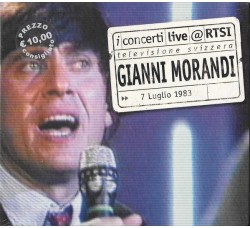 Gianni Morandi – Live @ RTSI - CD