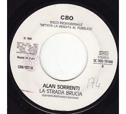 Alan Sorrenti / Alex Damiani – La Strada Brucia / Non T'Amo – Jukebox