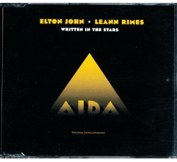 Elton John & LeAnn Rimes ‎– Written In The Stars – CD  Single