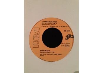 Gianni Morandi / Riccardo Cocciante – Marinaio / Celeste Nostalgia – (jukebox) - 45 RPM