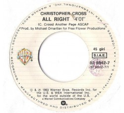 Christopher Cross – All Right