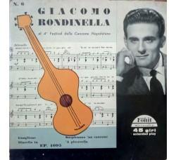 Giacomo Rondinella – 4° Festival Della Canzone Napoletana