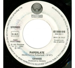 Genesis / Nada (8) ‎– Paperlate / Ti Stringerò – (jukebox)