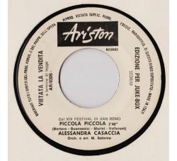 Alessandra Casaccia / Mino Reitano – Piccola Piccola / Meglio Una Sera (Piangere Da Solo)  – (Jukebox)