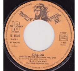 Dalida – Besame Mucho / Parle-Moi D'Amour, Mon Amour