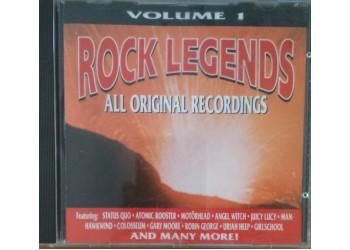 Various – Rock Legends volume 1 - CD