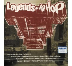 Various ‎– Legends Of Hip Hop - (CD)