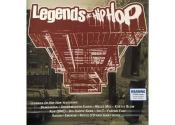 Various – Legends Of Hip Hop - (CD)