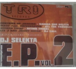 Various ‎– Tri Records Dj Selekta E.p. Vol.2 - (CD)