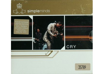 Simple Minds ‎– Cry - (CD)