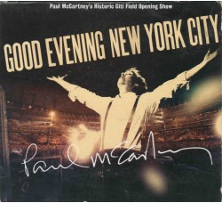 Paul McCartney ‎– Good Evening New York City - (CD)
